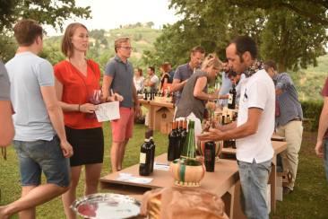 Valdelsa wine tasting