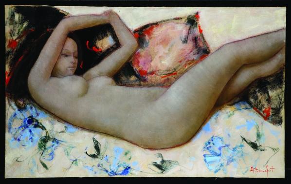 alain bonnefoit - pittura contemporanea - volterra